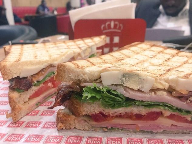 Vida club sandwich Vida e cafe east legon
